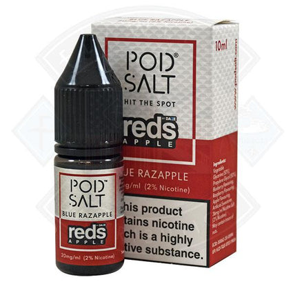 DAZE MFG BLUE RAZAPPLE 20MG 10ML SALT NICOTINE