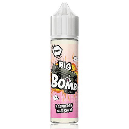 RASPBERRY MILK CHEW BY BIG BOMB SHORTFILL E-LIQUID 200ML