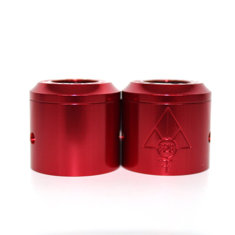CUSTOM VAPES 24MM GOON RED ANODISED CAP