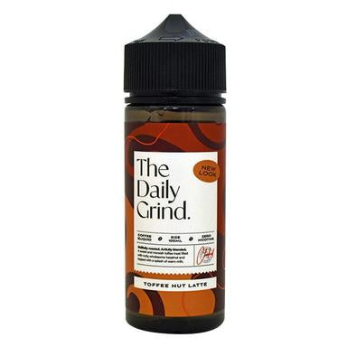 THE DAILY GRIND TOFFEE NUT LATTE 100ML SHORTFILL E-LIQUID