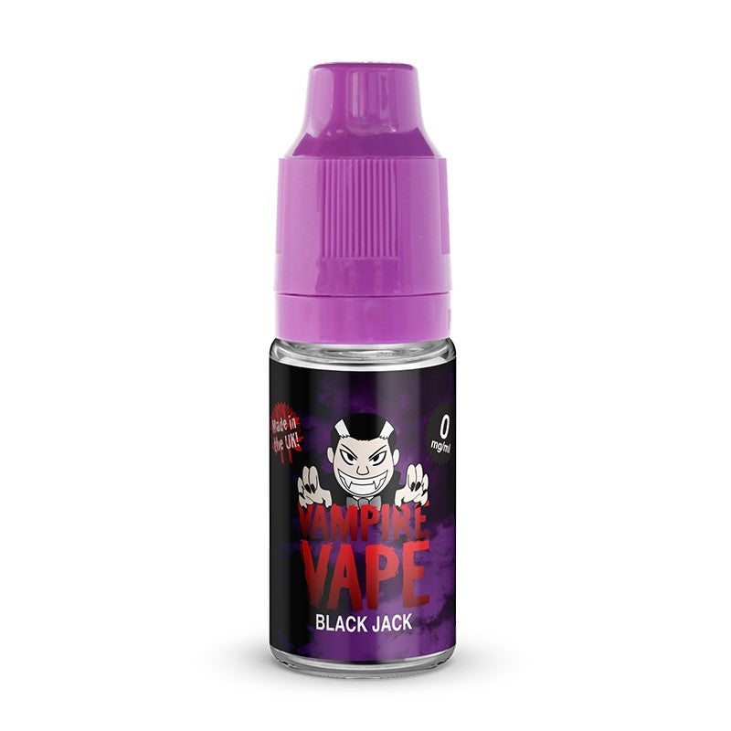 VAMPIRE VAPE BLACK JACK 10ML E-LIQUID