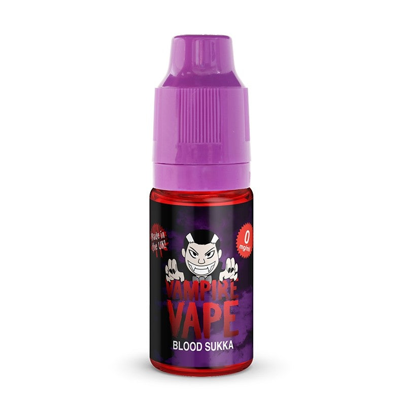 VAMPIRE VAPE BLOOD SUKKA 10ML TPD READY E-LIQUID - FRUITY CHERRY MENTHOL