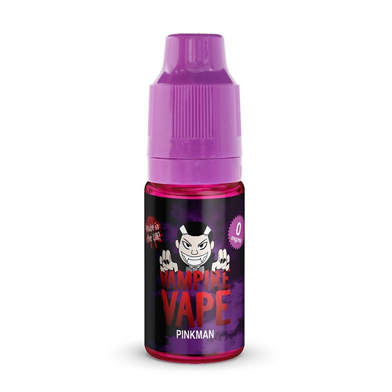 VAMPIRE VAPE PINKMAN 10ML TPD READY E-LIQUID - FRUITY ORANGE LEMON GRAPEFRUIT