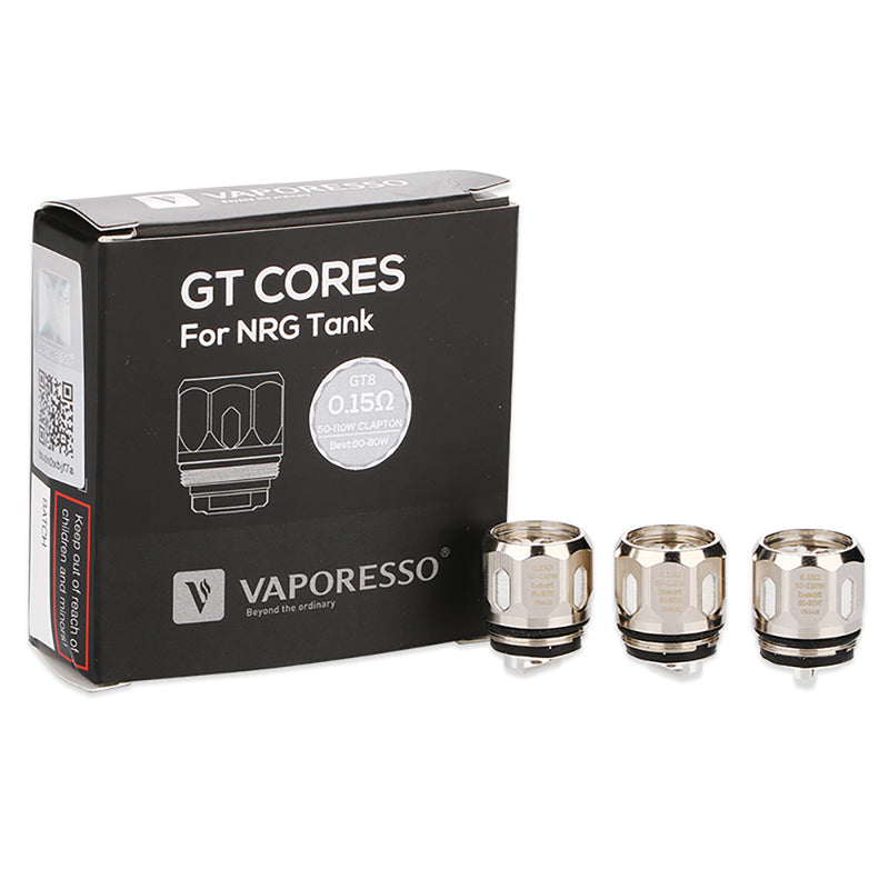VAPORESSO GT8 0.15 OHM PACK OF COILS