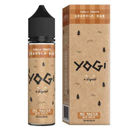 YOGI VANILLA TOBACCO GRANOLA 50ML SHORTFILL E-LIQUID - GRANOLA HONEY TOBACCO VANILLA