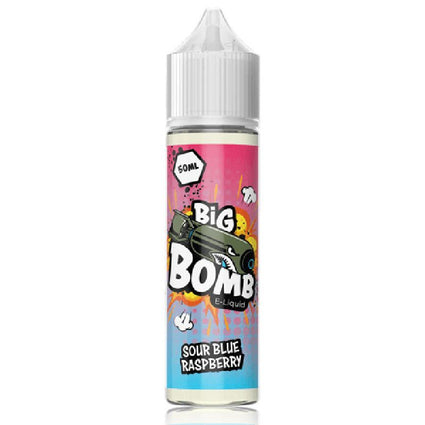 SOUR BLUE RASPBERRY BY BIG BOMB SHORTFILL E-LIQUID 50ML - 200ML