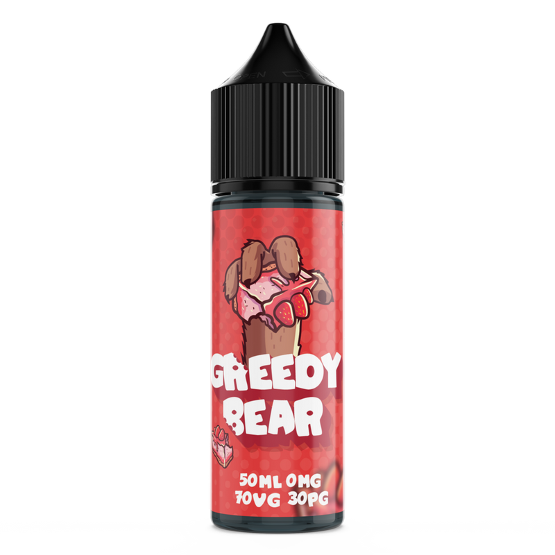 GREEDY BEAR BLOATED BLUEBERRY 50ML SHORTFILL E-LIQUID