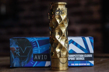 AVID LYFE MECHANICAL MOD BRASS DIMPLE GYRE