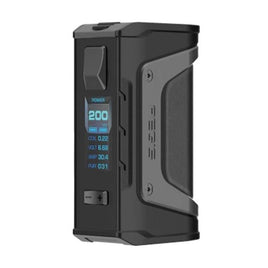 GEEK VAPE AEGIS LEGEND BLACK 200W DUAL EXTERNAL BATTERY INDESTRUCTIBLE BOX MOD