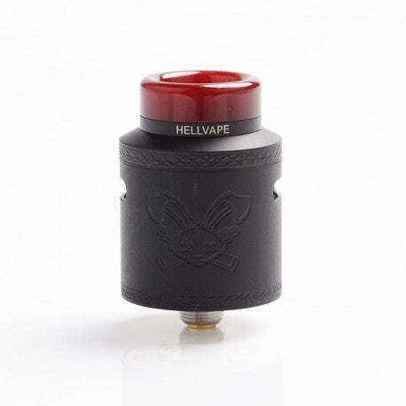 HELLVAPE DEAD RABBIT V2 FULL BLACK REBUILDABLE RDA