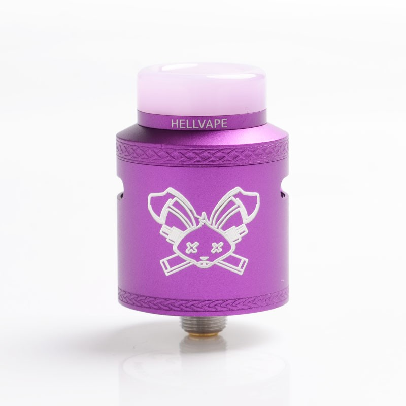 HELLVAPE DEAD RABBIT V2 PURPLE REBUILDABLE RDA