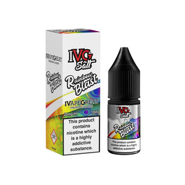 IVG RAINBOW BLAST 10ML SALT NICOTINE - CANDY MIXED FRUIT RAINBOW SHERBET