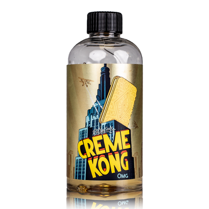 CUSTARD CREME BY CREME KONG JOES JUICE SHORTFILL E-LIQUID 200ML