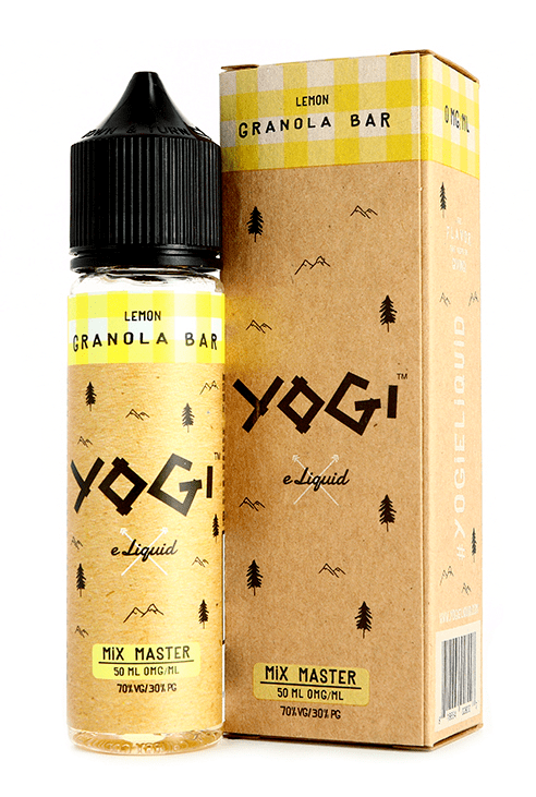 YOGI LEMON GRANOLA 50ML SHORTFILL E-LIQUID - BAKERY GRANOLA HONEY LEMON
