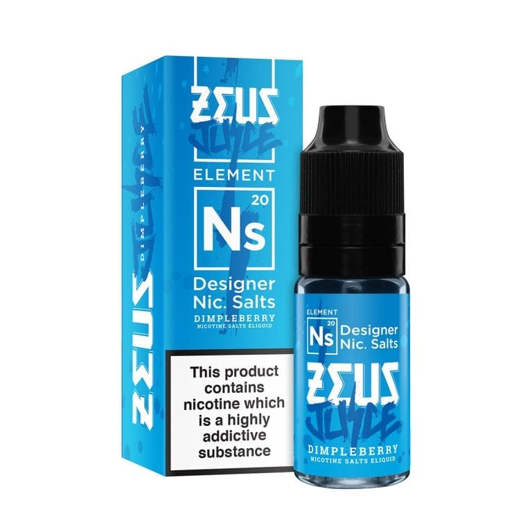 ZEUS DIMPLEBERRY 10ML TPD READY E-LIQUID - FRUITY MIXED FRUIT MENTHOL EUCALYPTUS