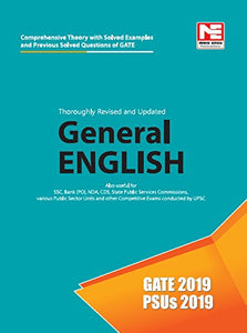 General English for GATE 2019 and PSUs 2019 -Theory and Previous Year Solved Papers (ENGLISH, Paperback, Made Easy Editorial Board)