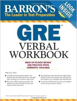 Barron's GRE Verbal Workbook (English, Paperback, unknown)