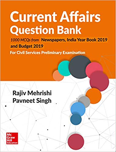 Current Affairs Question Bank Rajiv Mehrishi