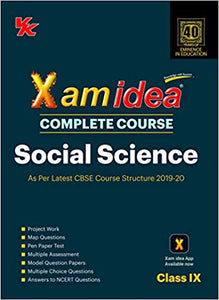 Xam Idea Class 9 Social Science CBSE Complete Course