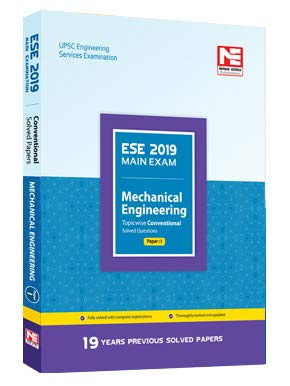 ESE 2019 Main Exam : Mechanical Engineering - Topicwise Conventional Solved Questions Paper - 2 (English, Paperback, Made Easy Editorial Board)