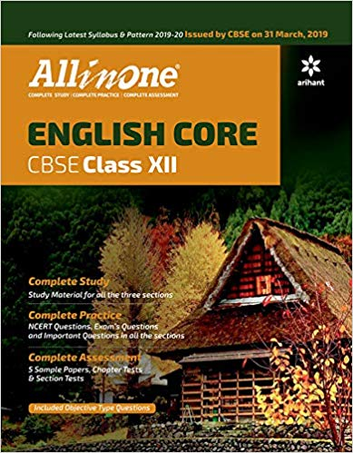 Arihant All in One Class 12 English Core CBSE