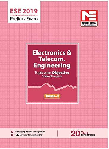 ESE 2019: Preliminary Exam : E &T Engineering Objective Paper - Volume II (English, Paperback, Made Easy Team)