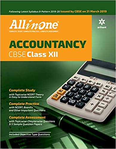 Arihant All in One Class 12 Accountancy CBSE
