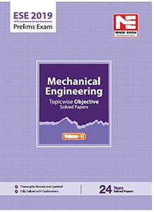 ESE 2019: Preliminary Exam : Mechanical Engineering Objective Paper - Volume II (ENGLISH, Paperback, Made Easy Editorial Board)