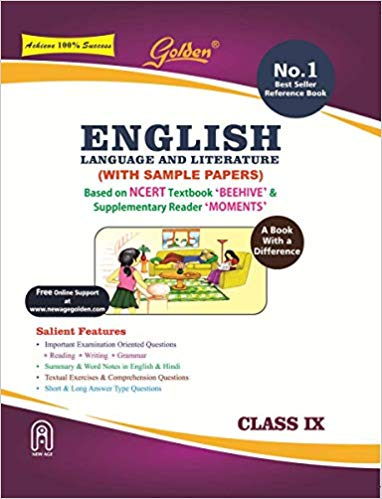 Golden Class 9 English (Beehive Moments NCERT) Guide