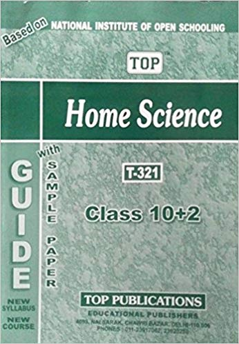 TOP NIOS Class 12 Home Science T - 321 Guide