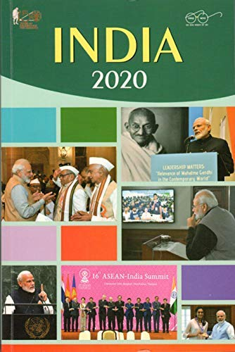 India 2020 Year Book (English) by Publication Division