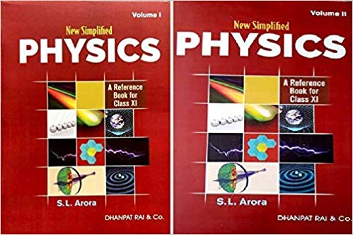 New Simplified Physics : A Reference Book for Class 11 for 2020 Examination