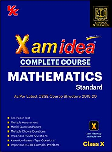 Xam Idea Class 10 Mathematics CBSE Complete Course