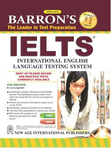 Barrons IELTS (Free 2 CDs)