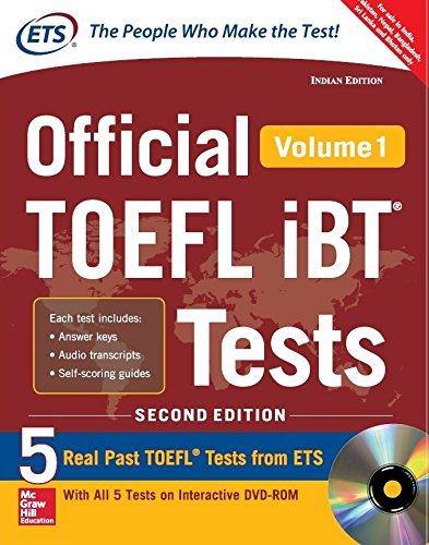 Official Toefl IBT Tests - Vol. 1 (With Dvd)