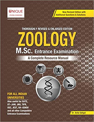 Unique M.Sc. Zoology  by Dr. Anita Sehgal