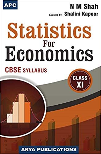 Statistics for Economics  NM Shah for Class 11 (2019-2020 Session)