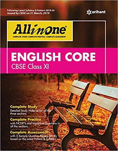 Arihant All in One Class 11 English Core CBSE