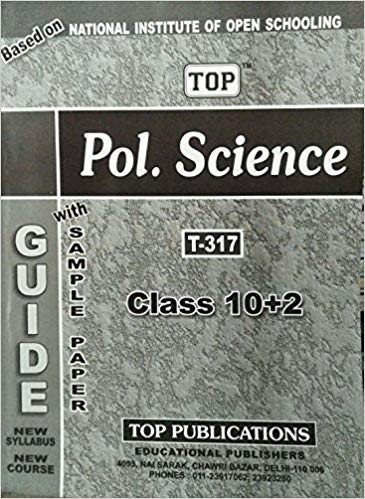 TOP NIOS Class 12 Political Science T - 317 Guide