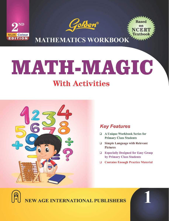 Golden Mathematics Workbook Math - Magic with Activities for Class -1