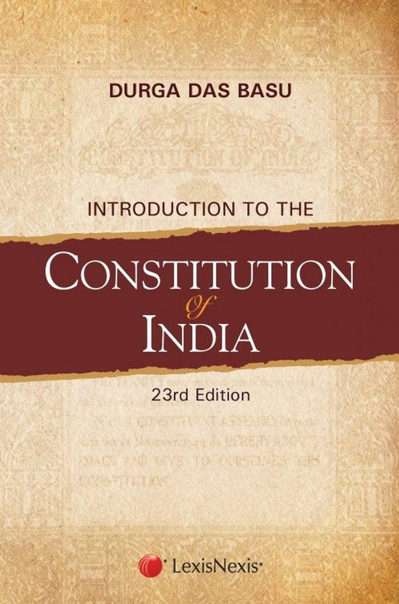 Introduction to the Constitution of India, Durga Das Basu