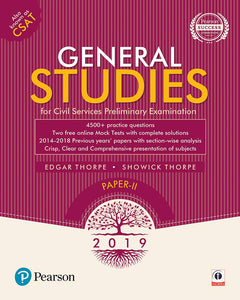General Studies Paper II: For Civil Services Preliminary Examination 2019, Edgar Thorpe, Showich Thorpe