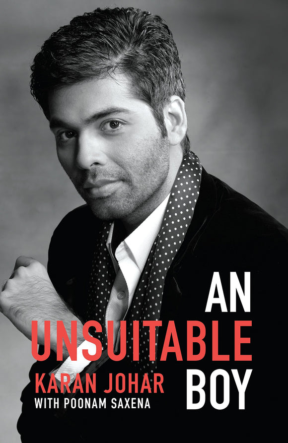 An Unsuitable Boy (Hardcover, Karan Johar)