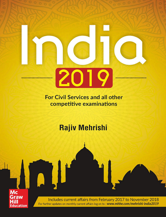 India 2019, Rajiv Mehrishi, McGrawHill