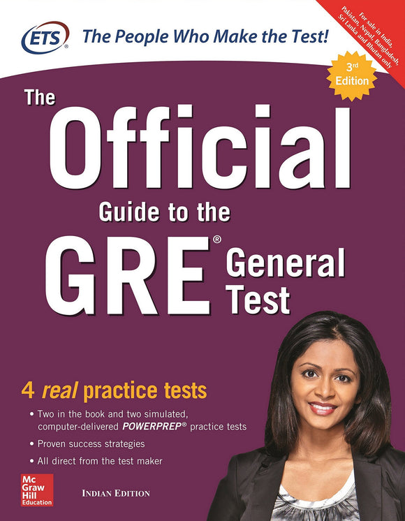 The Official Guide to the GRE General Test Third Edition (English, Paperback, ETS)