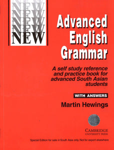 Advanced English Grammar with Answers, Martin Hewings, Cambridge