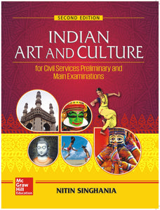 Indian Art and Culture, Nitin Singhania