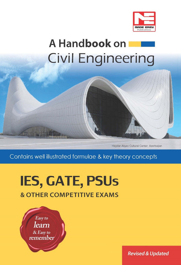 A Handbook for Civil Engineering (English, Paperback, Made Easy)
