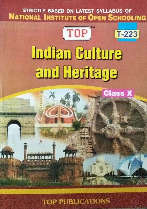TOP NIOS Class 10 Indian Culture & Heritage T - 223 Guide