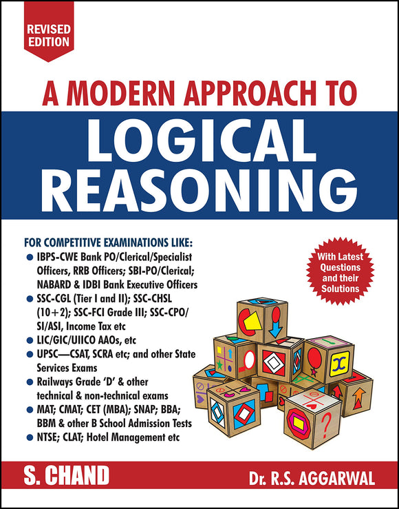 A Modern Approach to Logical Reasoning, RS Aggarwal